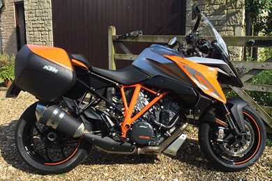 updated ktm super duke gt spotted during tests | mcn