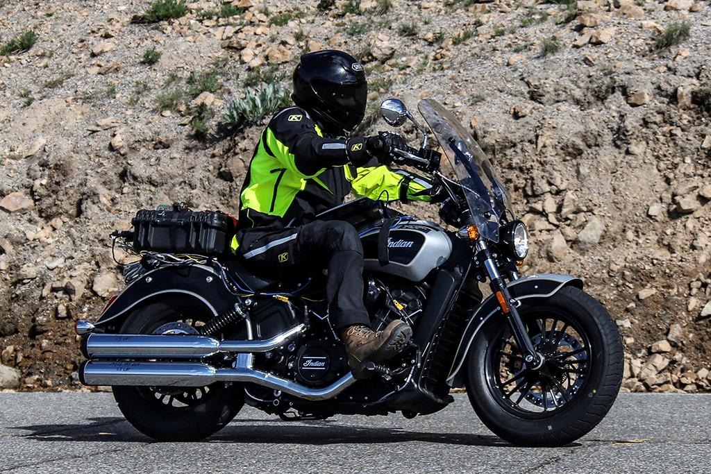 Indian Scout 'Touring' model spied | MCN