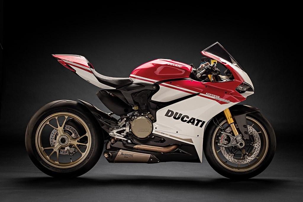 Ducati Reveal Stunning 1299 Panigale S Anniversario Mcn