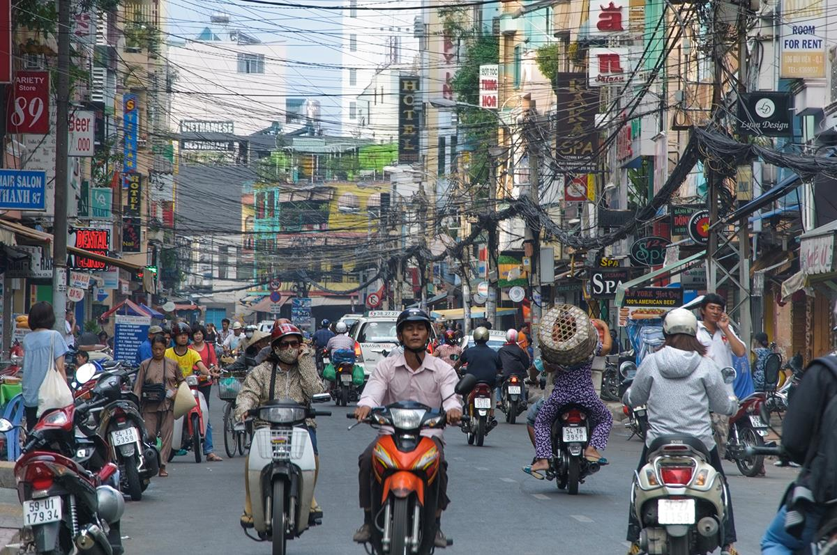 Growing markets for motorcycles in the Philippines