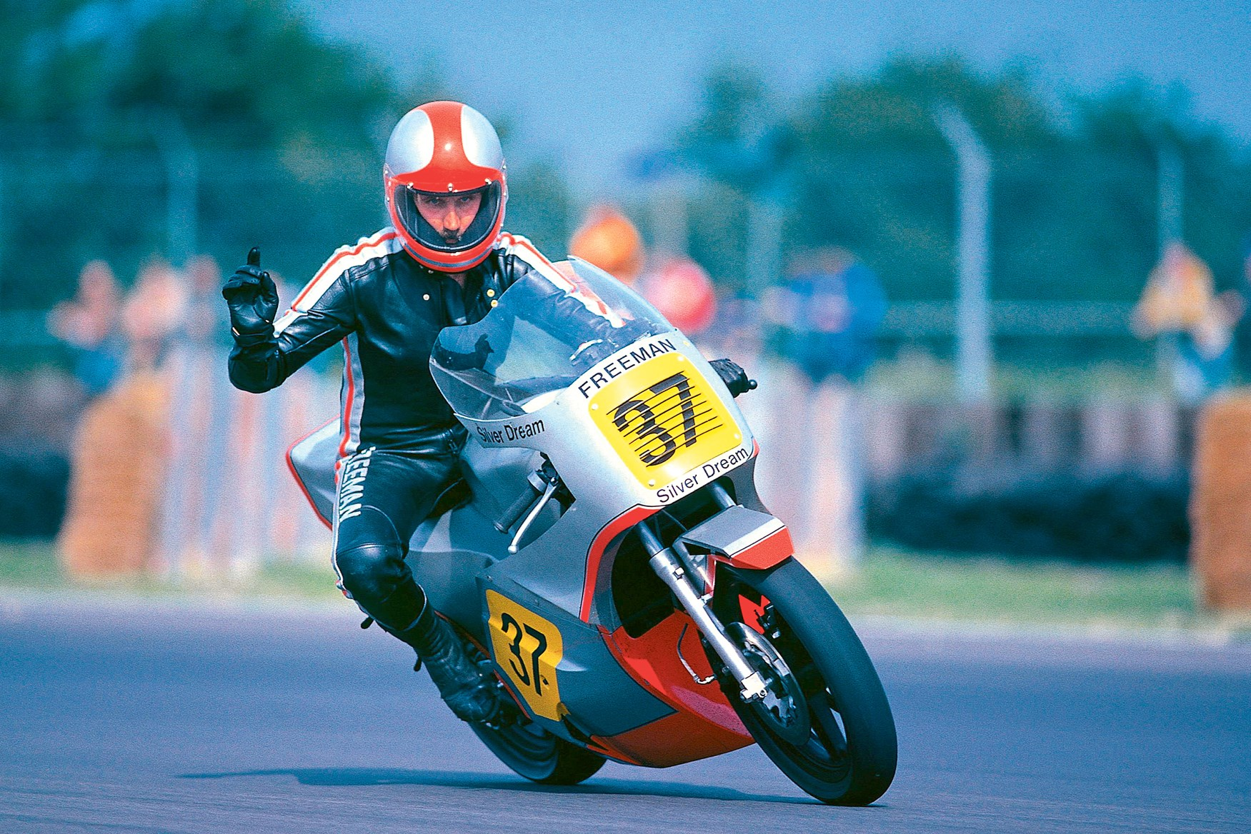 Whatever happened to the silver dream racer mcn for Camel motors on park and ajo