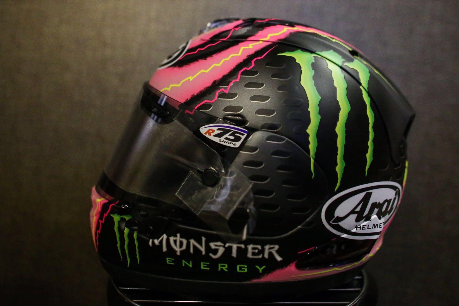 MotoGP: Crutchlow running special helmet to celebrate birth of his daughter | MCN