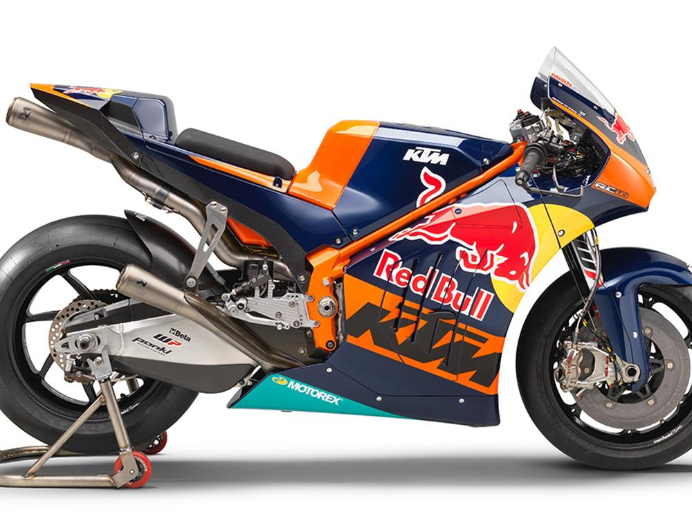 MotoGP KTM unveil 2017 livery at Red Bull Ring  MCN