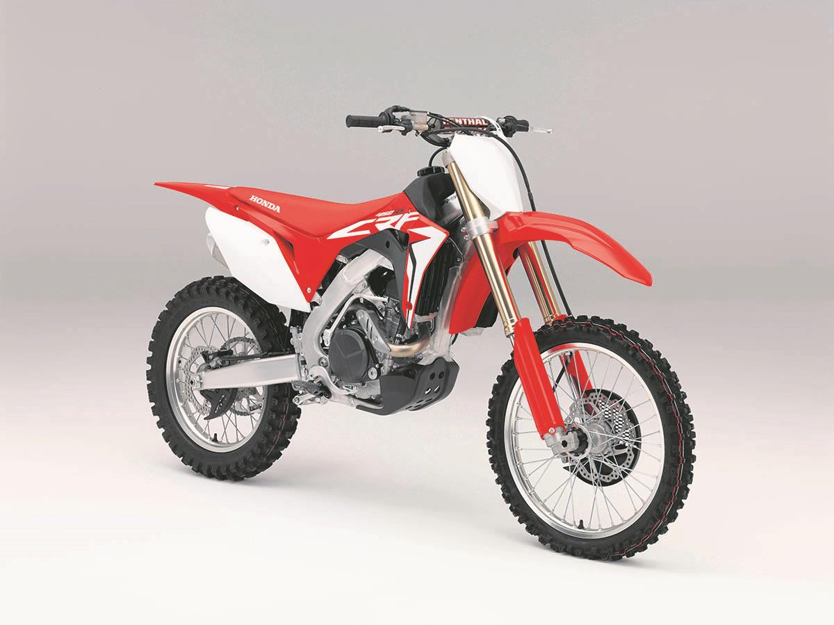 honda crf450 gets powerful makeover mcn. Black Bedroom Furniture Sets. Home Design Ideas