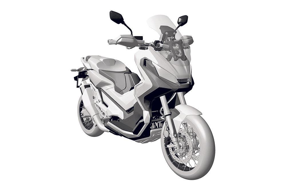 honda to unleash mad 750 adventure scooter. Black Bedroom Furniture Sets. Home Design Ideas
