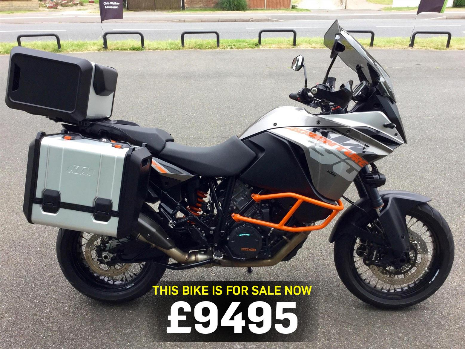 bike of the day ktm 1190 adventure mcn. Black Bedroom Furniture Sets. Home Design Ideas