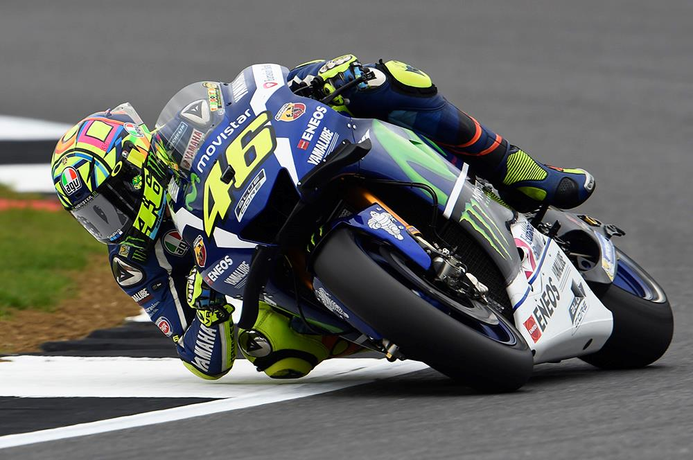 Motogp Rossi Continuing With 2017 Chassis At Silverstone Mcn