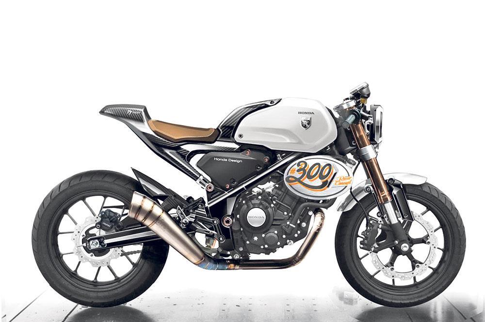 Honda CB300 Gets TT Treatment