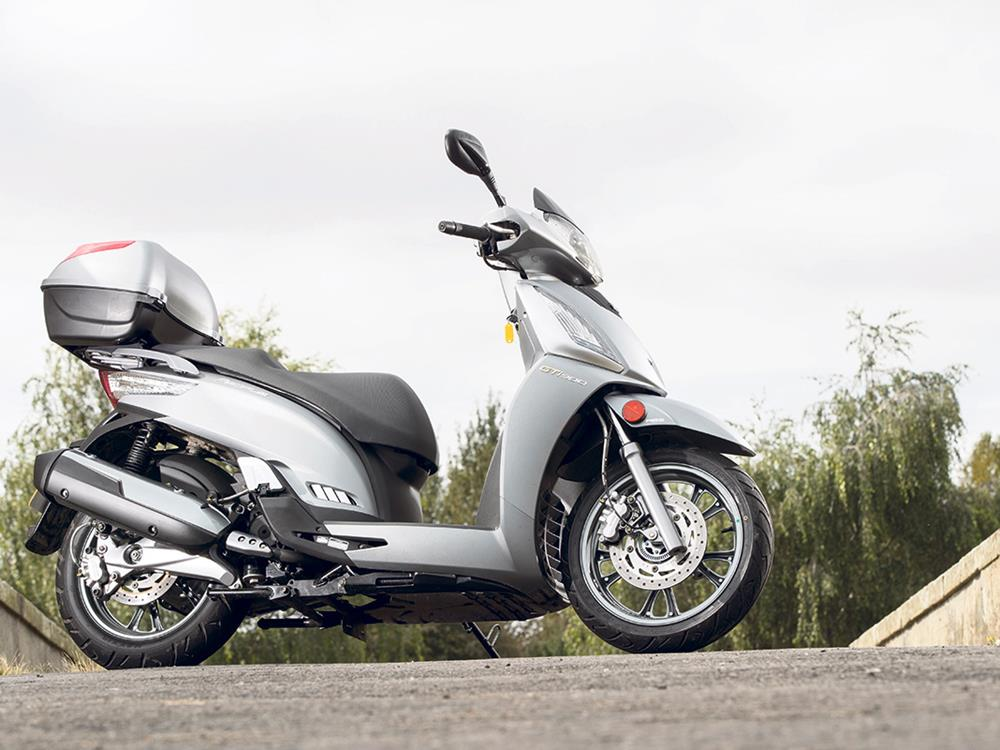 first ride: kymco people gt 300i | mcn