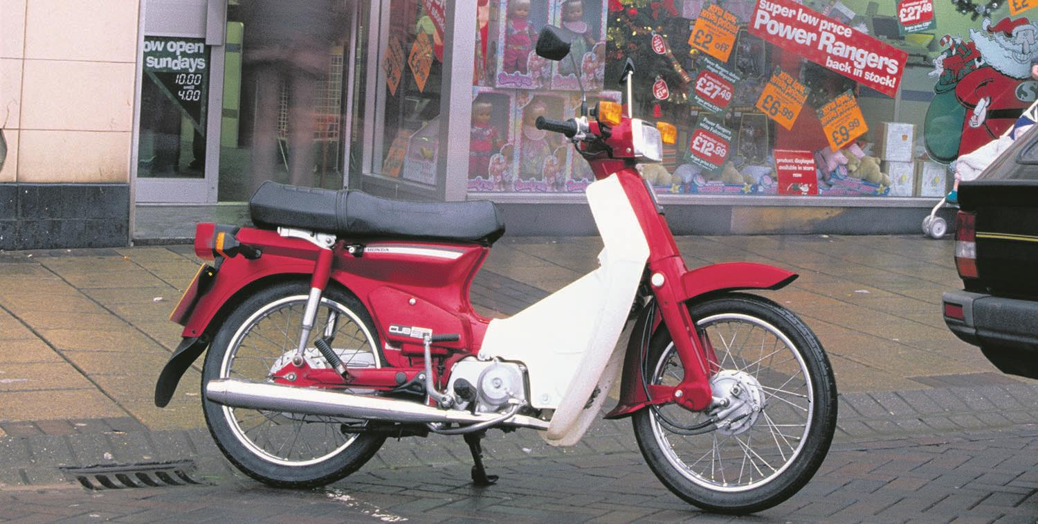 Honda Step Thrus Are Going For Crazy Money Mcn Old Mini Bikes Lowly Worth More Than A Blackbird