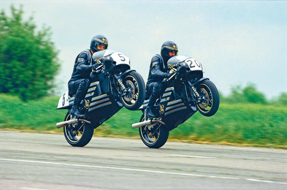 Whatever happened to the JPS Norton team?