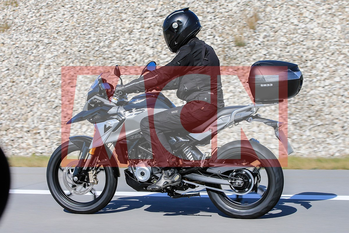 bmw  gs revealed mcn