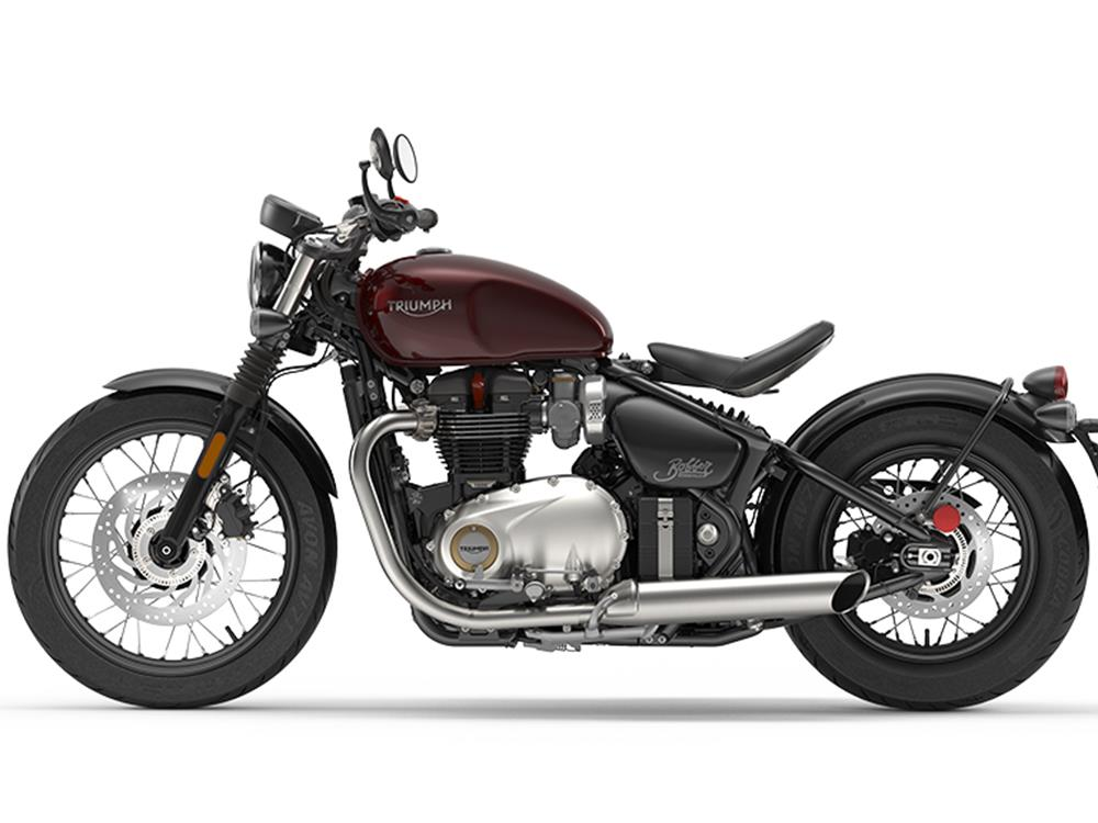 triumph reveal stunning bonneville bobber for 2017 mcn