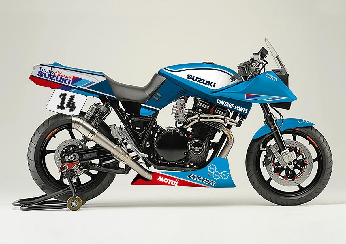 Suzuki to build Katana endurance racer at Motorcycle Live | MCN