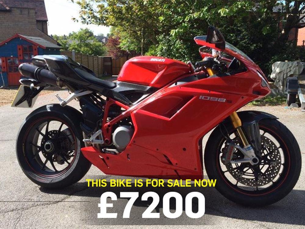 Bikes for sale: Ducati 1098S | MCN