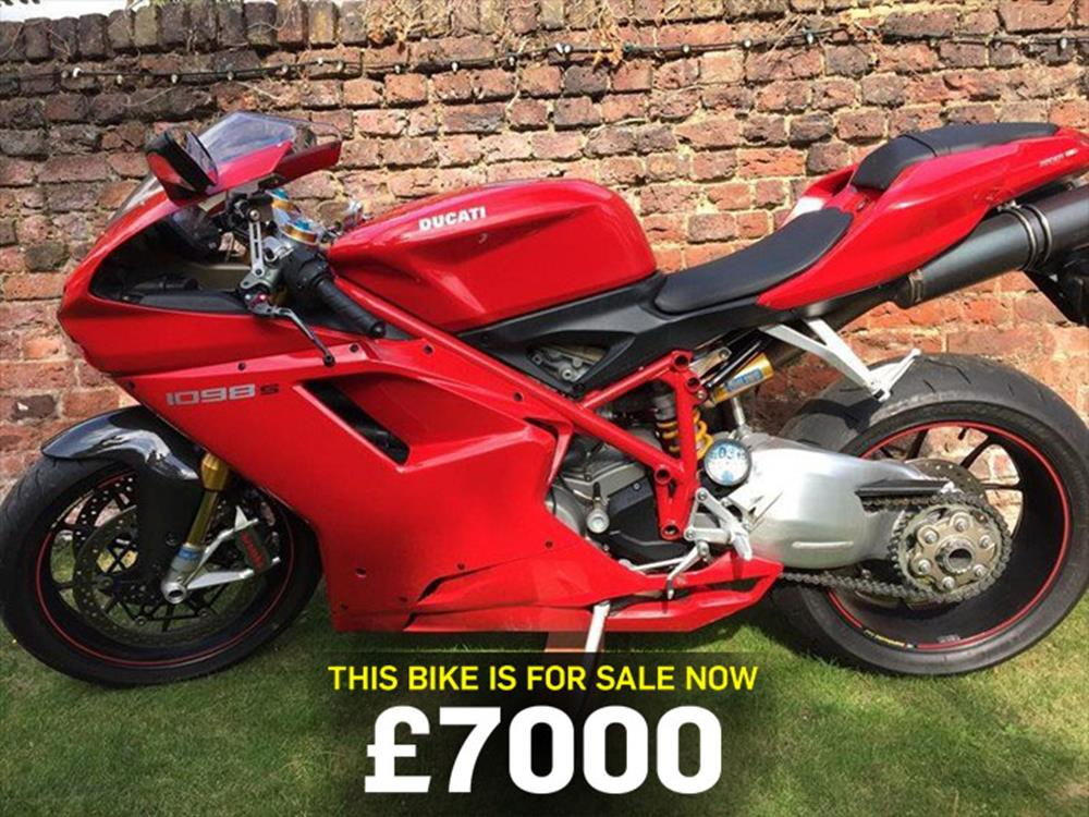 Bike of the day takeover special: Ducati 1098S | MCN