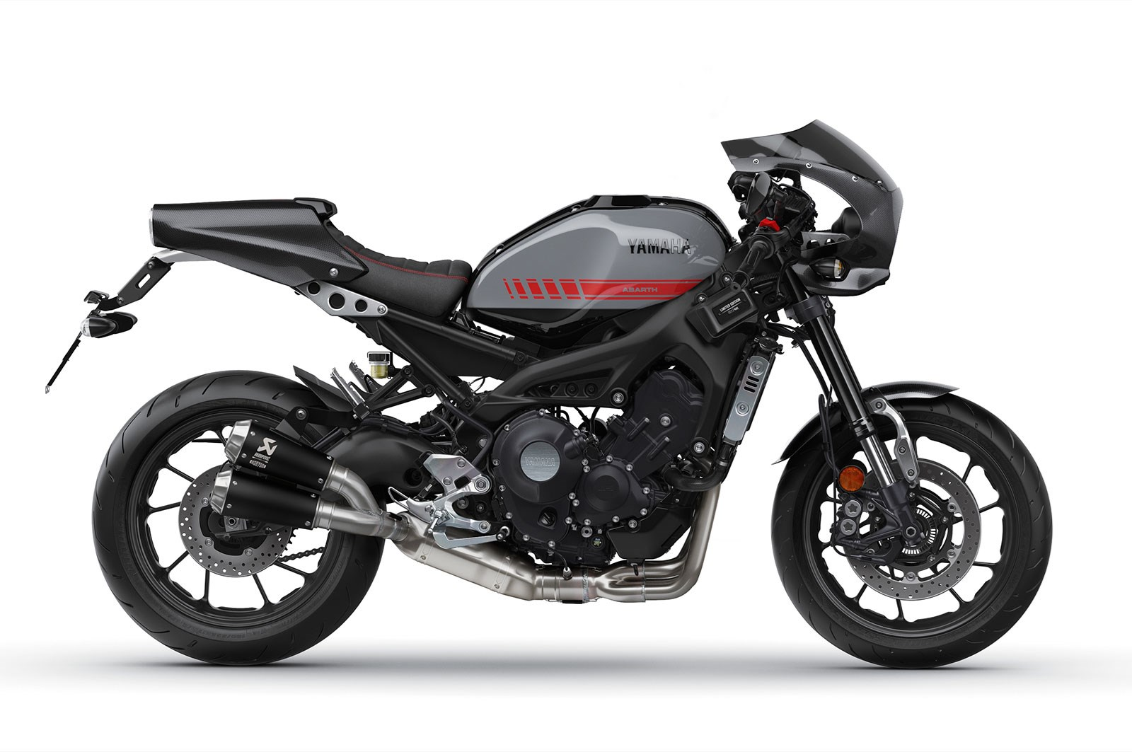 Milan show limited edition yamaha xsr900 abarth mcn