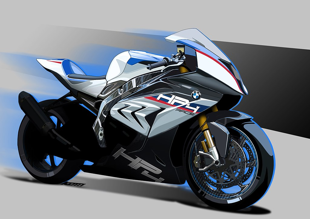 Milan Show Say Hello To The Carbon Framed Bmw Hp4 Race