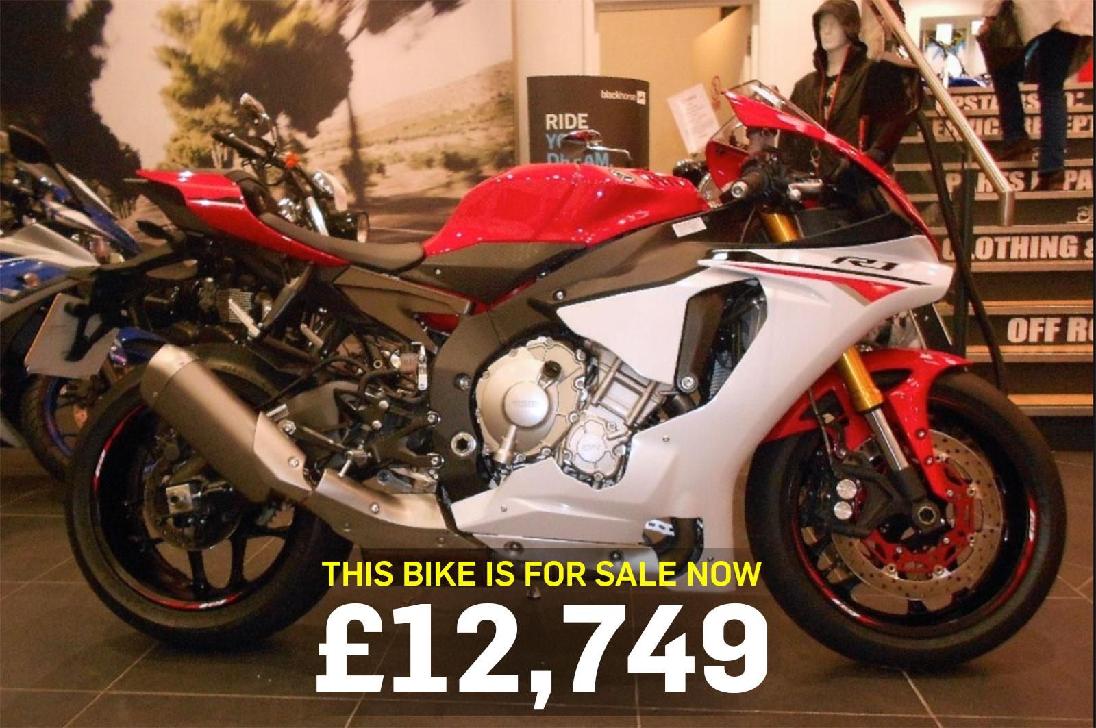 Bike of the day yamaha r1 mcn bike of the day yamaha r1 publicscrutiny Images