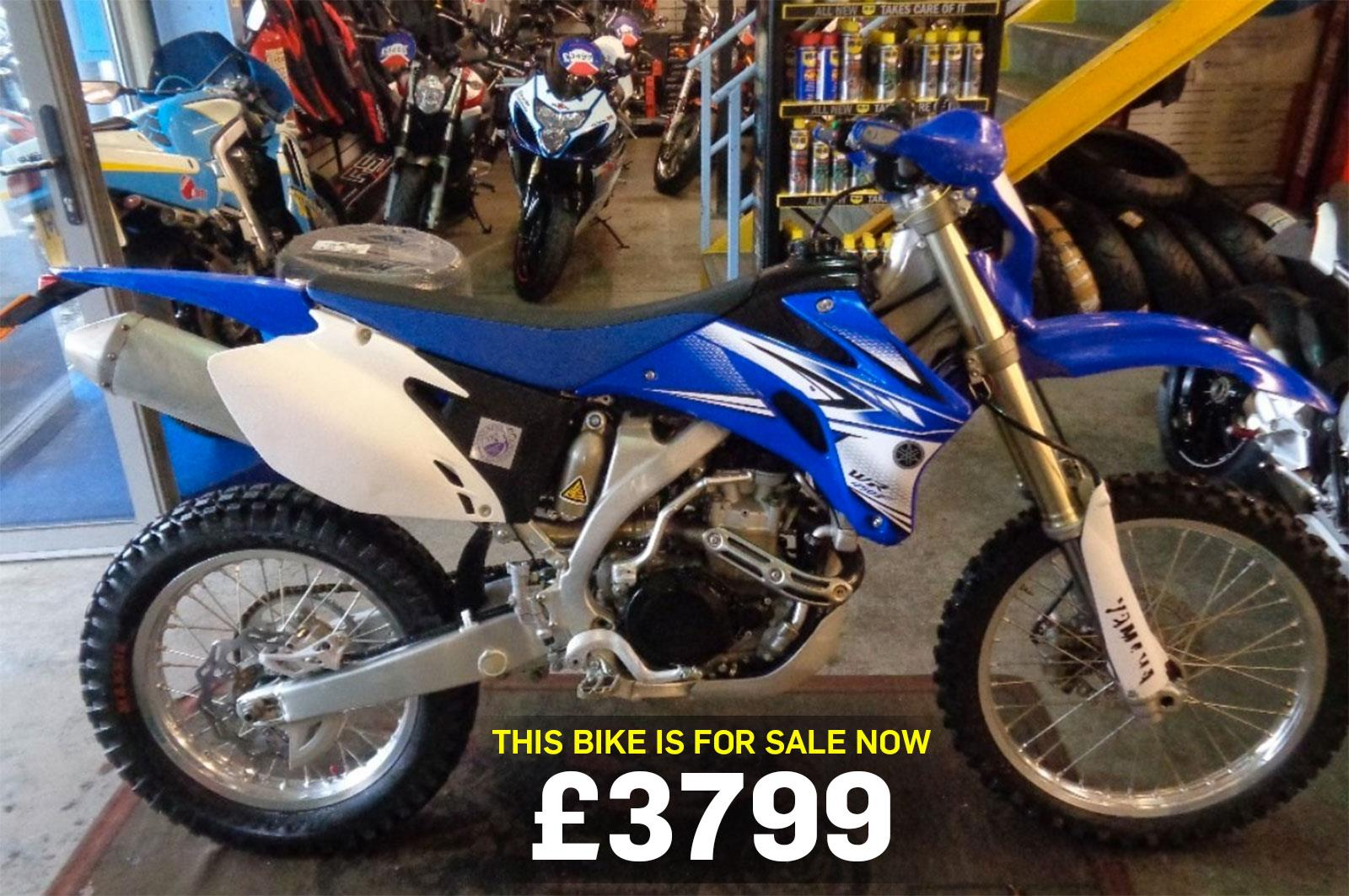 bike of the day yamaha wr450f mcn. Black Bedroom Furniture Sets. Home Design Ideas