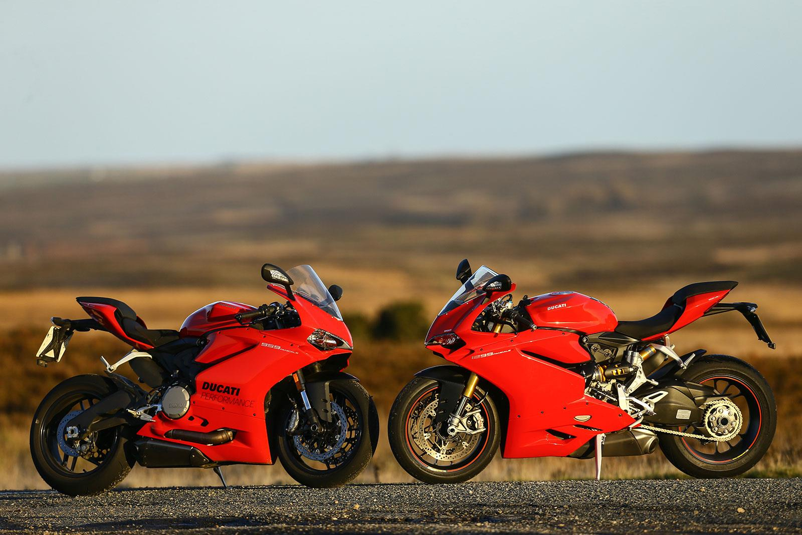 Gallery: Ducati 1299 Panigale v 959 | MCN
