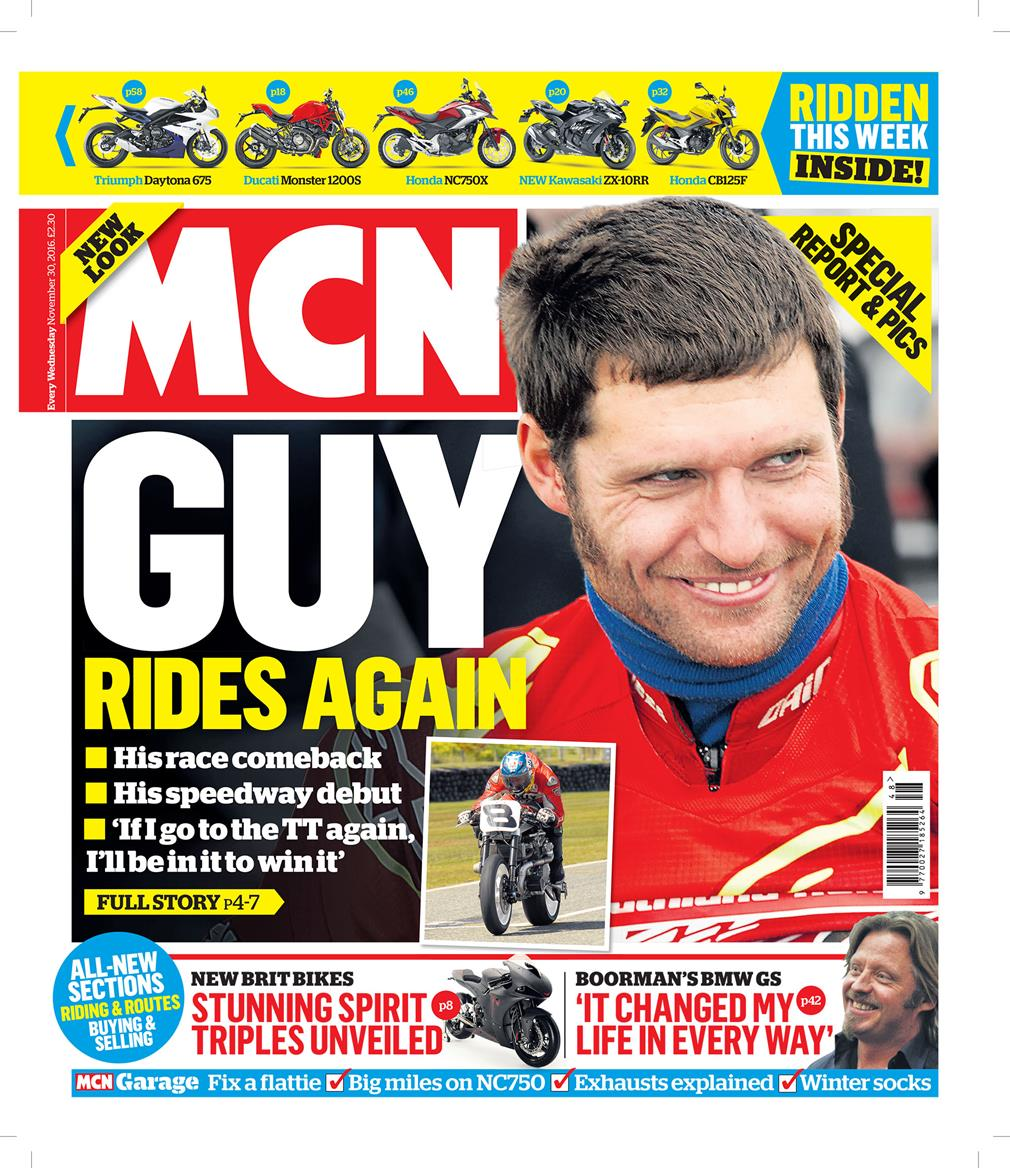 In This Week's Issue: Guy Martin Rides Again