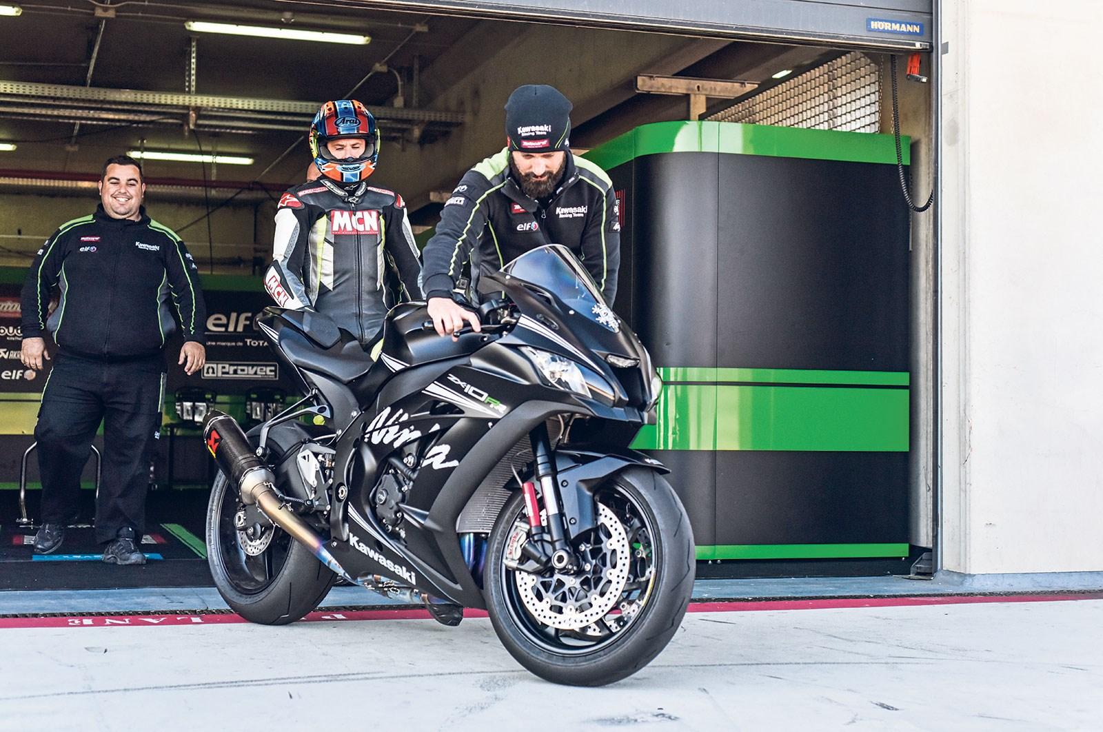 First Ride Kawasaki Zx 10rr