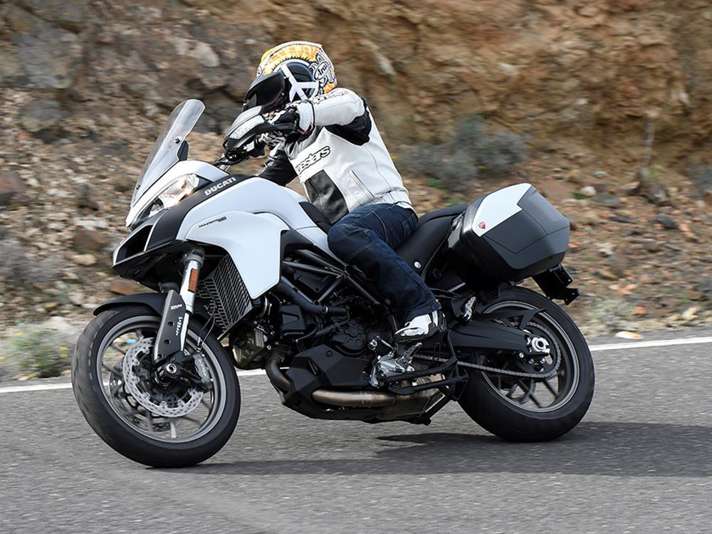 ducati multistrada 950 first ride | mcn