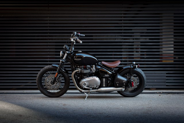 Triumph Bonneville Bobber Price And Inspiration Kits Announced