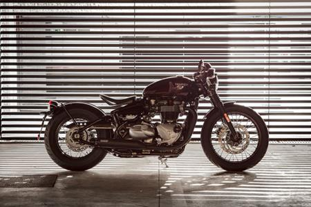 Triumph Bonneville Bobber: price and Inspiration Kits announced
