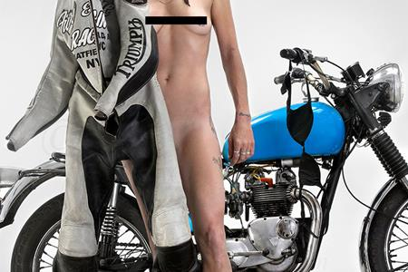Motorcycle woman naked photos good idea