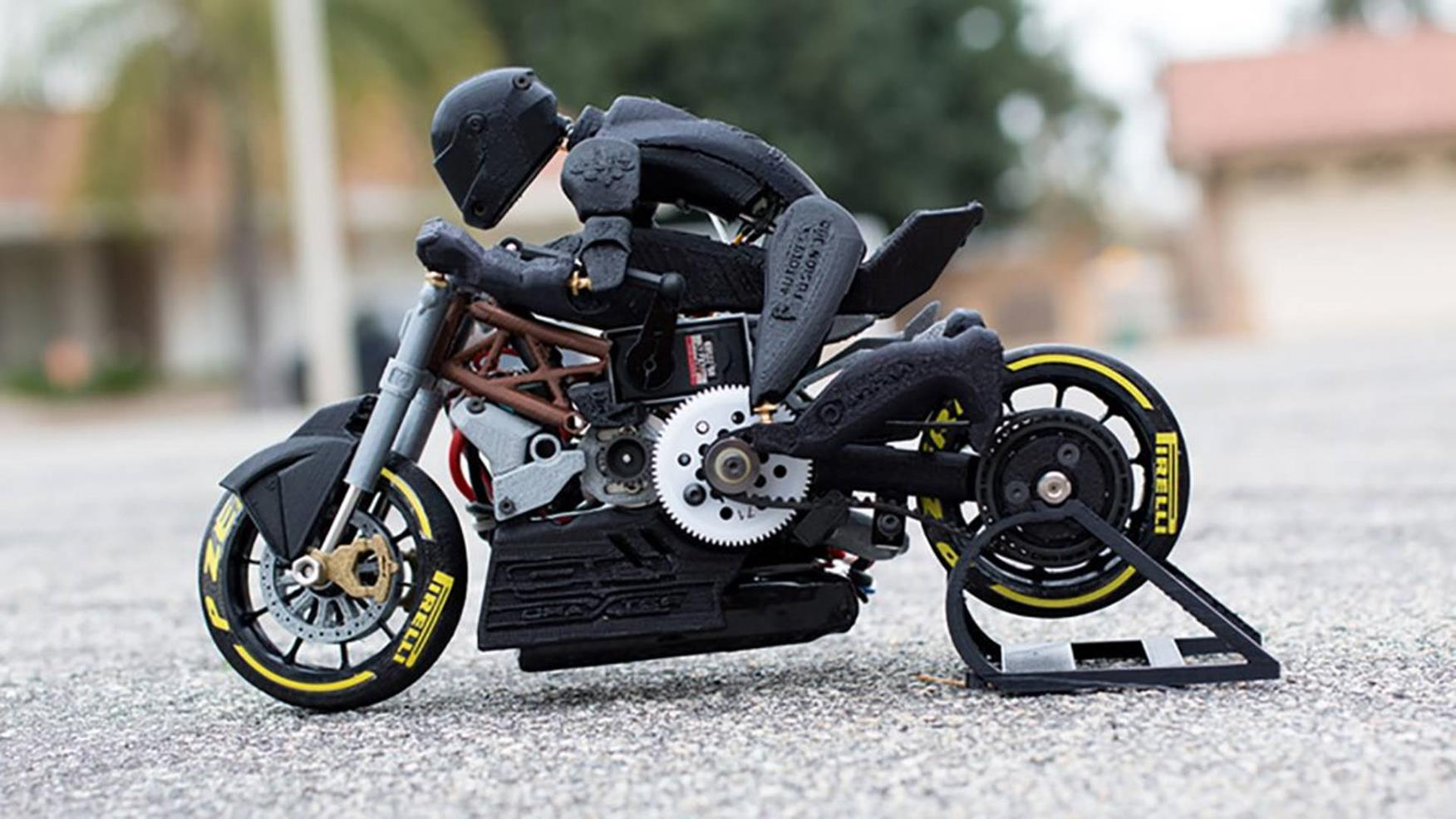 here 39 s your completely 3d printed rc motorcycle mcn. Black Bedroom Furniture Sets. Home Design Ideas