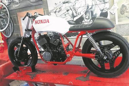 Shed Built 1983 Honda Vt500