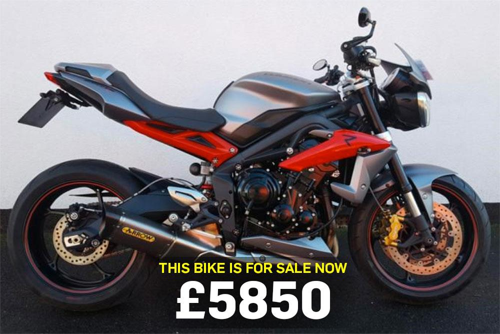 Bike Of The Day Triumph Street Triple R