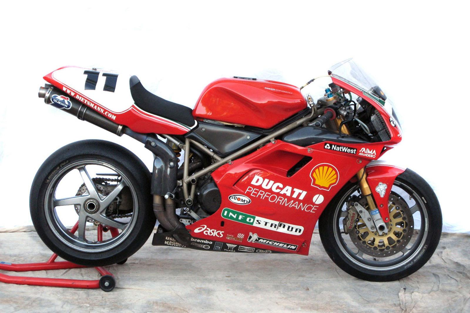 fancy owning troy corser s ducati 996 rs wsb bike mcn. Black Bedroom Furniture Sets. Home Design Ideas