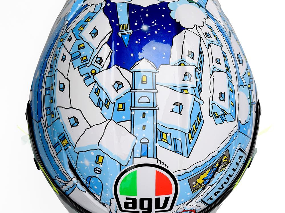 Gallery: Rossi's special testing helmet
