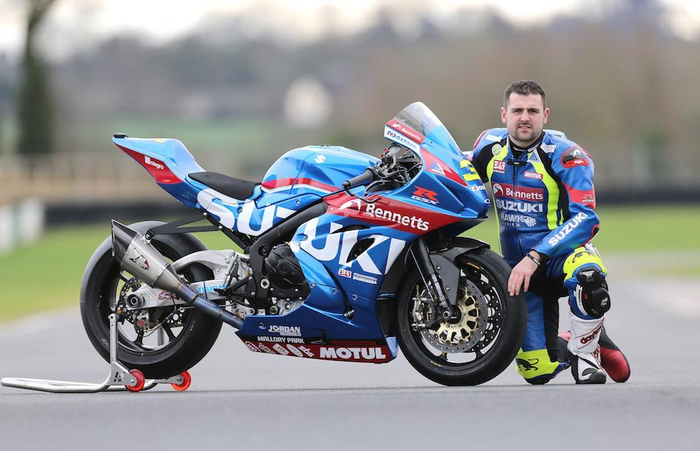 Bennetts Motorbike Insurance >> Roads: Michael Dunlop joins Bennetts Suzuki dream team
