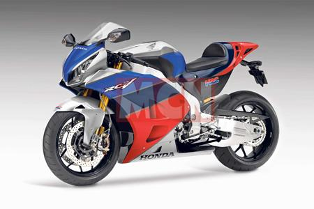 Honda S New V4 Superbike Is Taking Shape For 2019 Unveiling