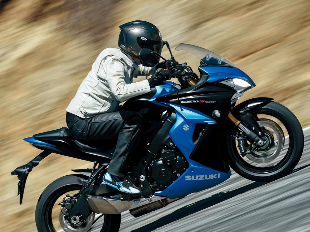 suzuki gsx-s1000 2017: more power and more tech | mcn