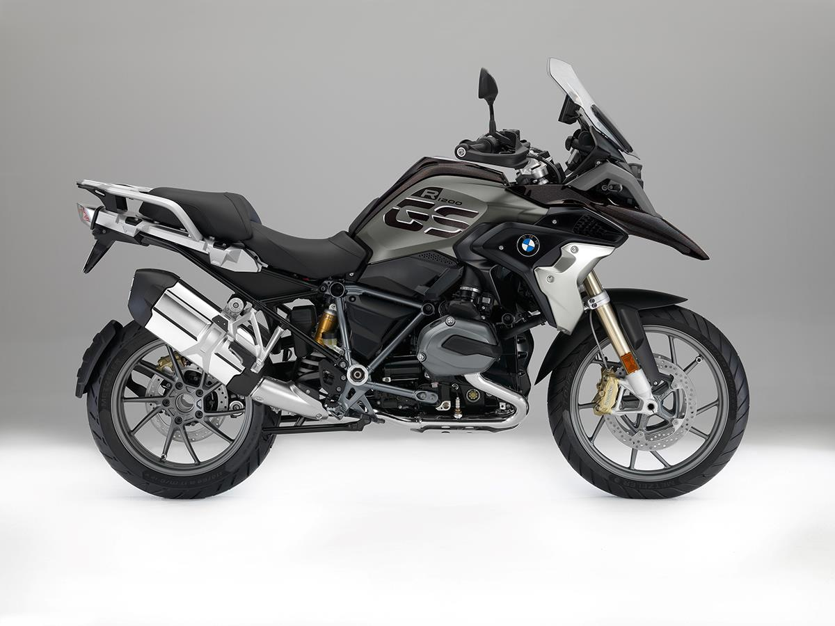 bmw r1200gs exclusive (2017-on) review | mcn