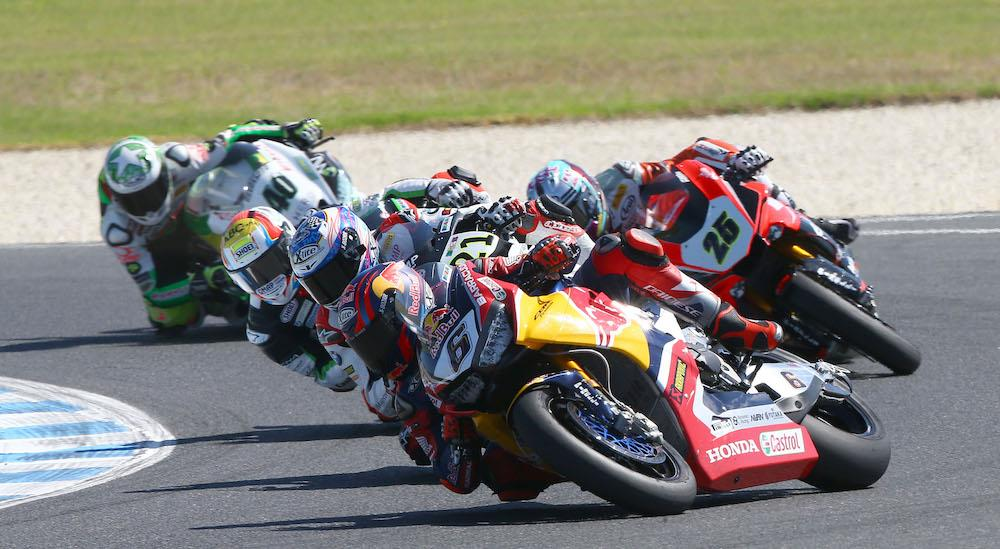 WSB: Tyre life hampers Red Bull Honda at Phillip Island