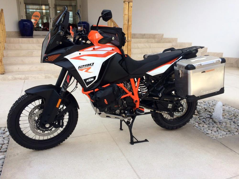 ktm 1290 super adventure r incoming from peru | mcn