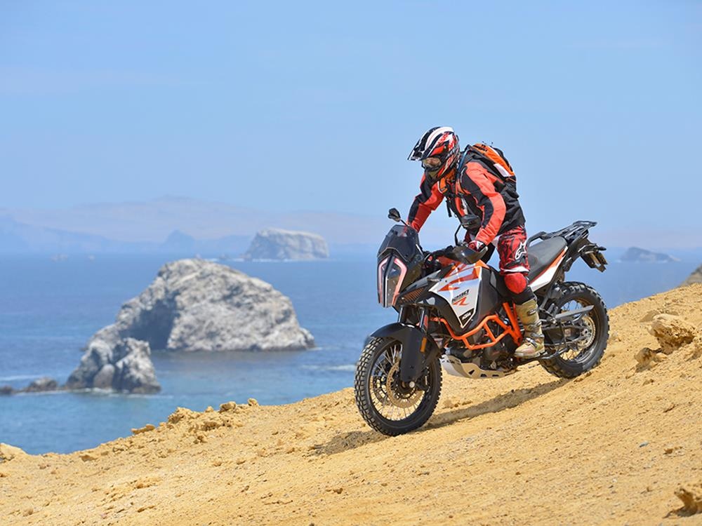 ktm 1290 super adventure r lives up to the promise   mcn