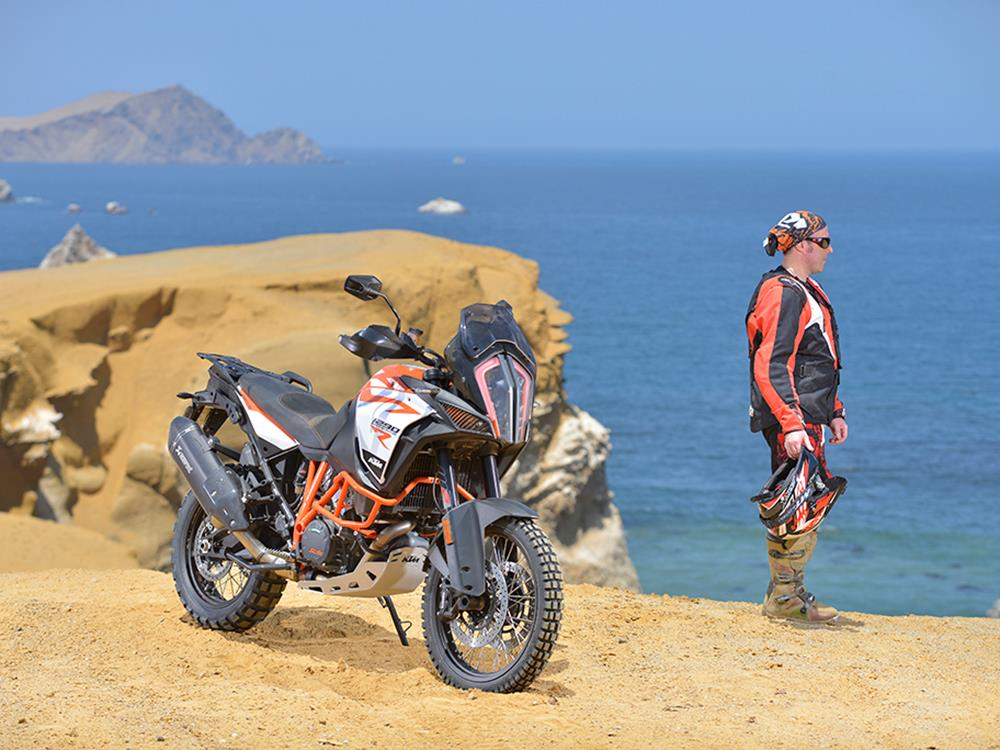 ktm 1290 super adventure r lives up to the promise | mcn
