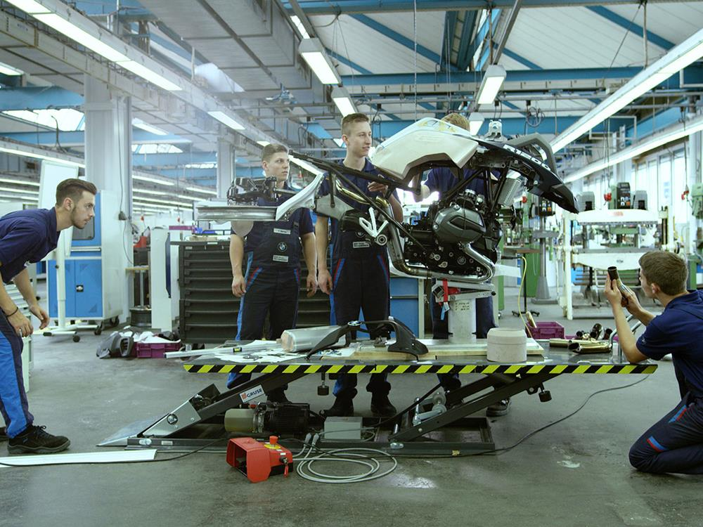 bmw and lego make a hover bike   mcn