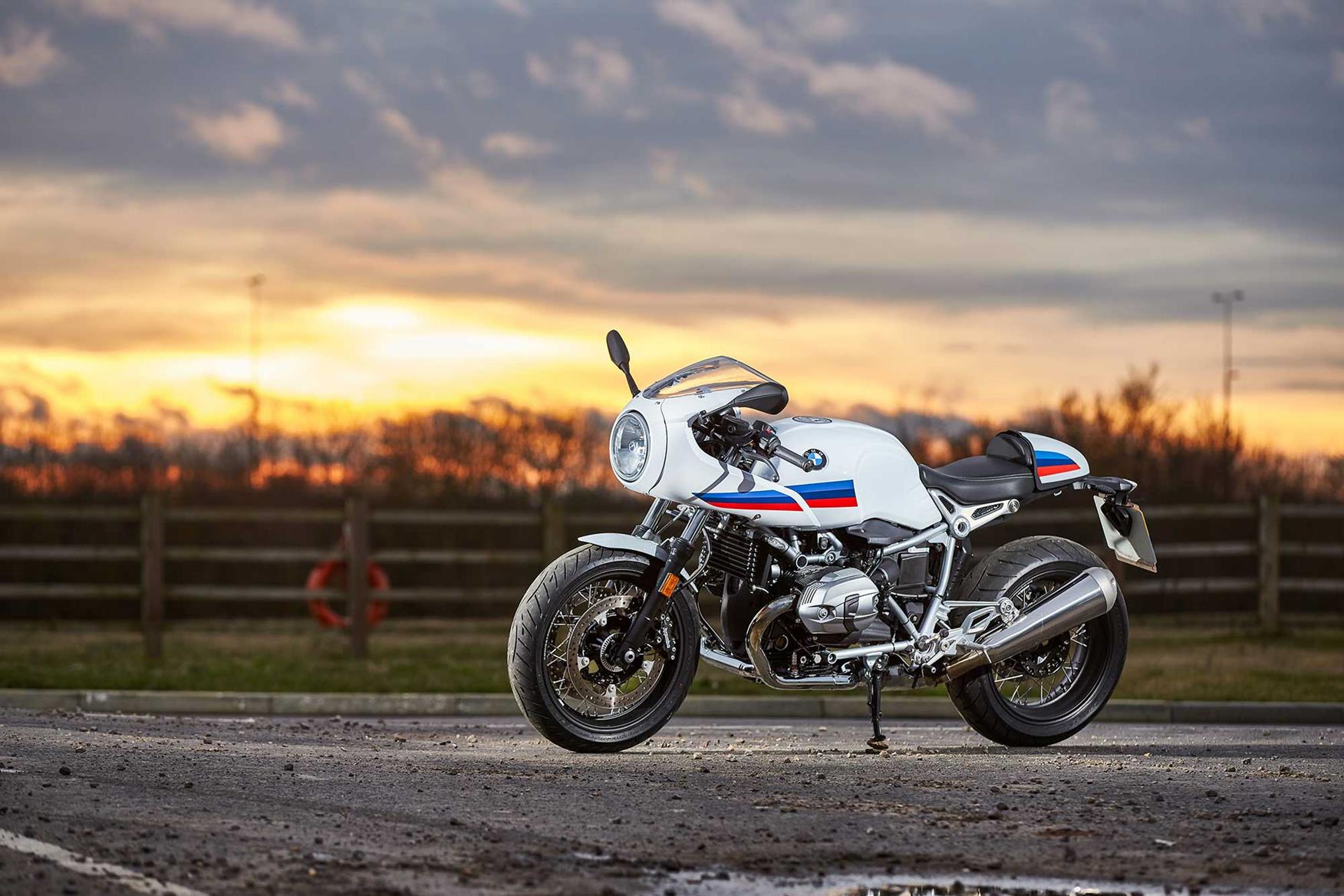 UK Exclusive BMW R NineT Racer First Ride