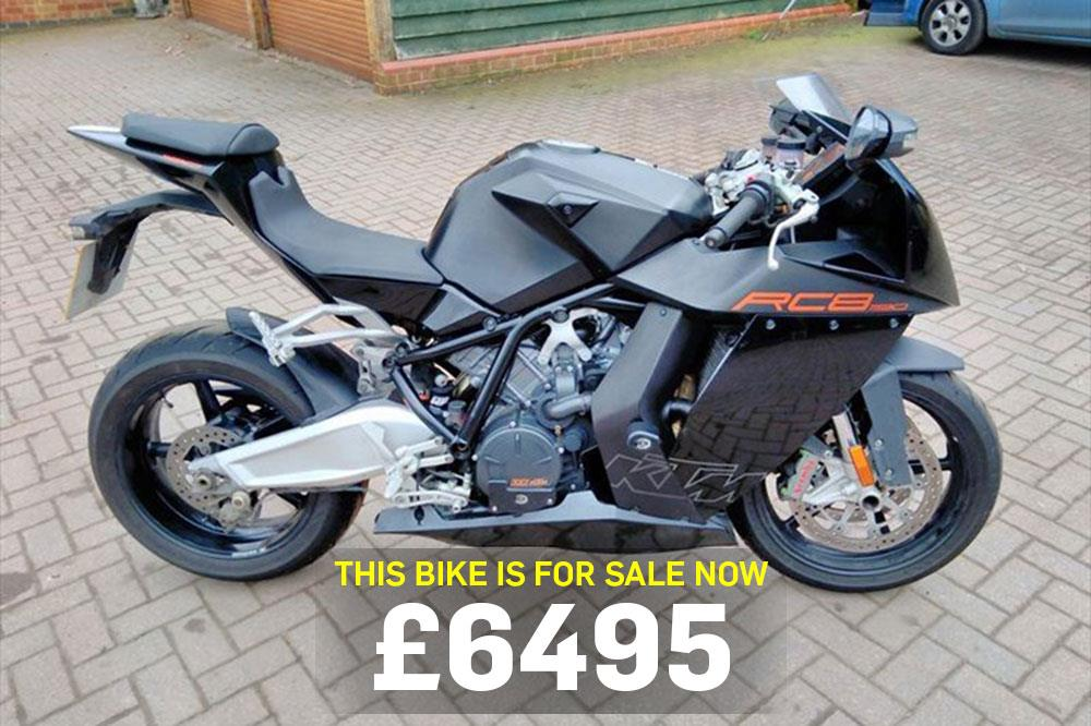 bike of the day ktm rc8 mcn