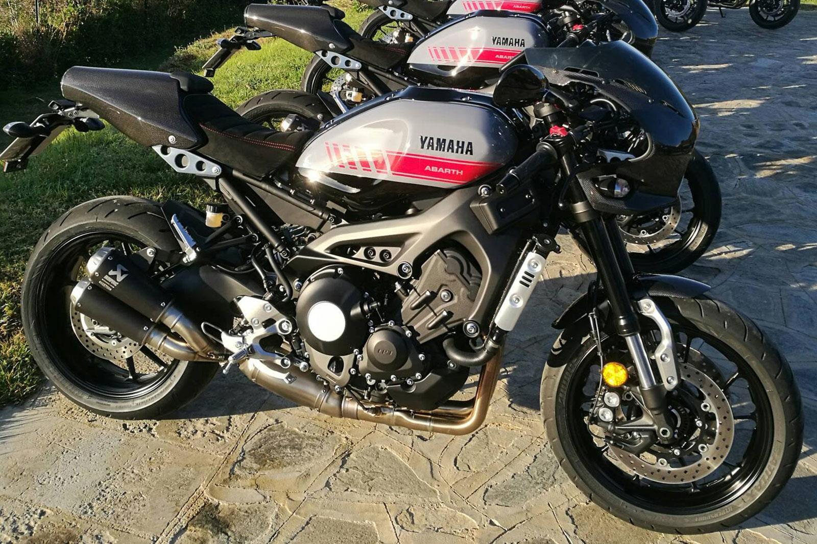 yamaha xsr900 abarth first ride coming soon mcn. Black Bedroom Furniture Sets. Home Design Ideas