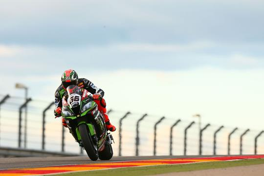 WSB: Sykes tops Aragon test despite illness