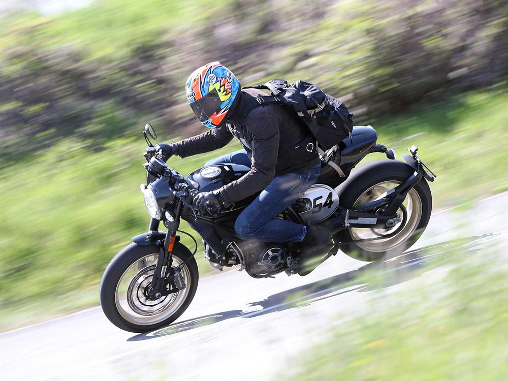 video: why the ducati scrambler café racer's beauty is more than